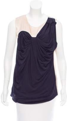 3.1 Phillip Lim Sleeveless Silk & Wool Top