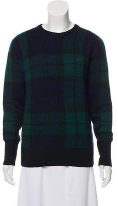 Fred Perry Plaid Wool Sweater