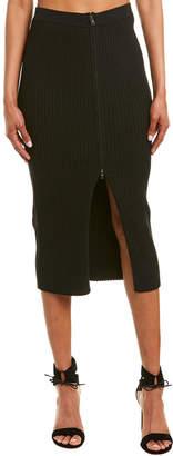 BCBGMAXAZRIA Rib-Knit Skirt