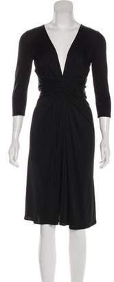 Issa Silk Ruched Dress