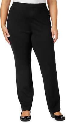 Karen Scott Plus Comfort Dress Pants