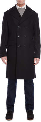 Michael Kors Black Wool-Blend Coat