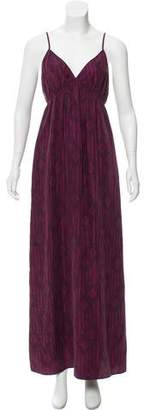 Twelfth Street By Cynthia Vincent Silk Maxi Dress w/ Tags