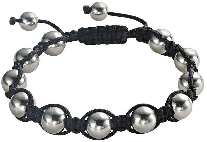 Shamballa Stainless Steel Bracelet
