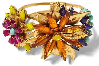 Banana Republic Elizabeth Cole | Tropical Flower Bracelet