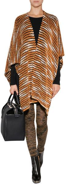 Missoni Cashmere-Wool Blend Knit Cape