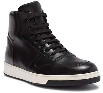 Bugatchi Voltera Leather Hi Top Sneaker