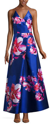 BY AND BY by&by Sleeveless Evening Gown-Juniors $168 thestylecure.com