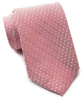 Vince Camuto Collonia Geo Print Silk Tie