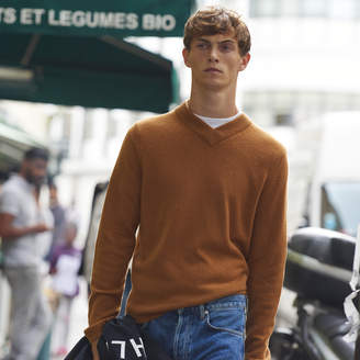 Sandro Wool and cashmere sweater with V-neck