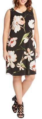 Karen Kane Floral Print Shift Dress