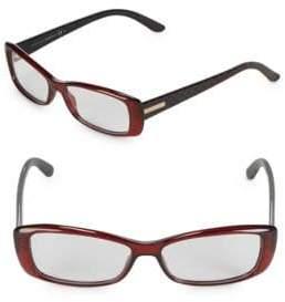 Gucci 65MM Rectangle Optical Glasses