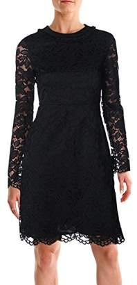 Marc by Marc Jacobs Women's Isabella Lace Paneled Crew Dress 0