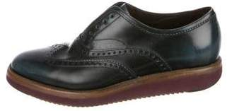 Salvatore Ferragamo Wingtip Leather Derby Brogues