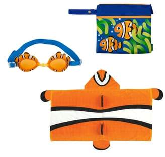 Stephen Joseph Bag, Hooded Towel & Goggles
