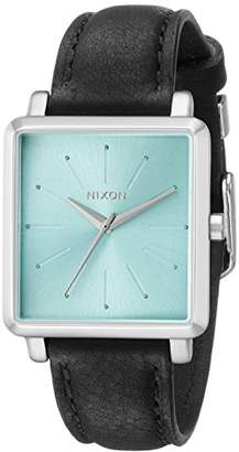 Nixon Women's A4722095 K Squared Analog Display Japanese Quartz Black Watch