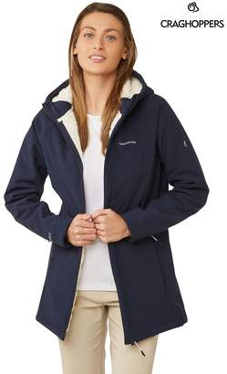 Craghoppers Womens Ingrid Hooded Jacket - Blue