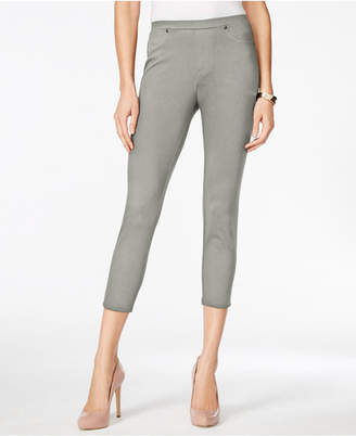 Style&Co. Style & Co Twill Capri Leggings, Created for Macy's