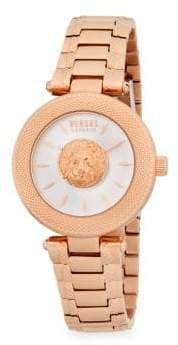 Versus By Versace Brick Lane Stainless Steel Bracelet Watch