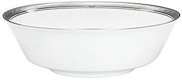 NoritakeNoritake Crestwood Etched Platinum Porcelain Round Vegetable Bowl
