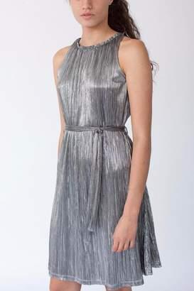 MORS Plisse Midi Dress