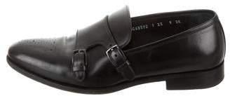 Salvatore Ferragamo Roland Monk Strap Shoes