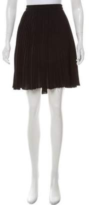 Acne Studios Pleated Mini Skirt