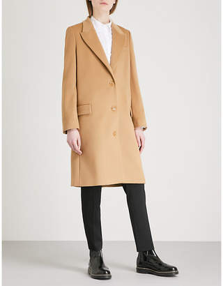 Burberry Fellhurst wool and cashmere-blend coat