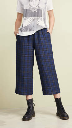 6397 Wide Leg Pull On Cropped Pants