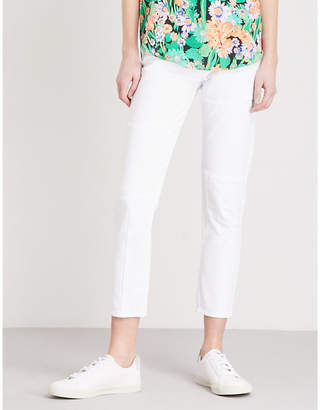 Sandro Skinny cropped mid-rise jeans