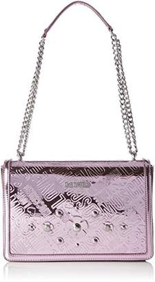 Love Moschino Borsa Embossed Tpu Rosa, Women's Shoulder Bag,6x19x28 cm (B x H T)