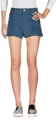 Alexander McQueen Denim shorts