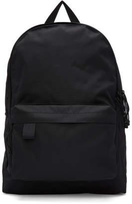 N.Hoolywood Black Two-Zip Backpack