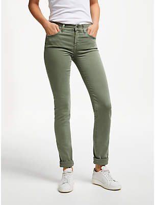 7 For All Mankind Mr Roxanne Mid Rise Skinny Jeans