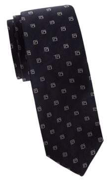 Polo Ralph Lauren Geometric Square Jacquard Silk Tie
