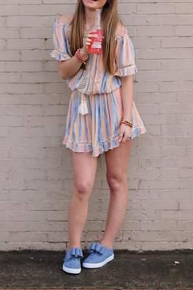 Vintage Havana Sunset Stripe Dress