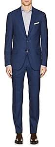 Isaia Men's Sanita Wool-Blend Two-Button Suit - Navy