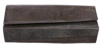 Helmut Lang Leather Fold Over Clutch