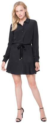 Juicy Couture Silk Shirtdress