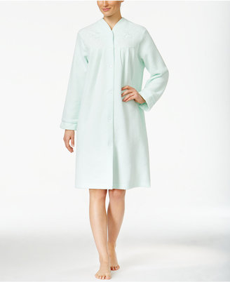 Miss Elaine Brushed-Back Terry Short Robe $60 thestylecure.com