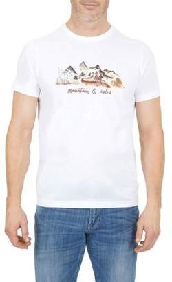 Mountain And Isles Men's Mountain Bike Graphic T-Shirt