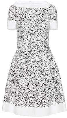 Carolina Herrera Printed tweed dress