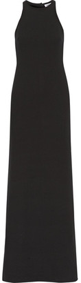 Elizabeth and James - Orley Cutout Stretch-ponte Gown - Black $695 thestylecure.com