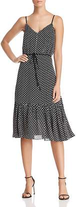 Milly Tiffany Dot Silk Dress