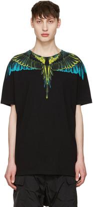 Marcelo Burlon County of Milan Black Valentin T-Shirt $235 thestylecure.com