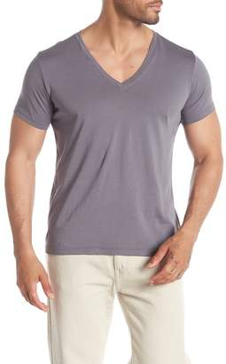Save Khaki Layer V-Neck T-Shirt