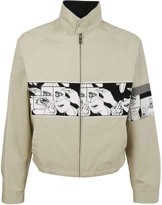 Prada Comic Book Print Jacket