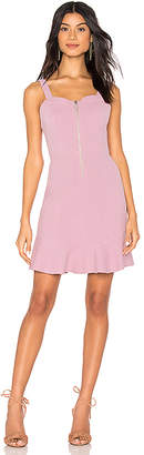 J.o.a. Zipper Front Dress
