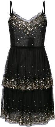 Twin-Set embellished layered dress