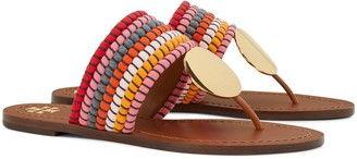 Patos Woven Disk Sandal